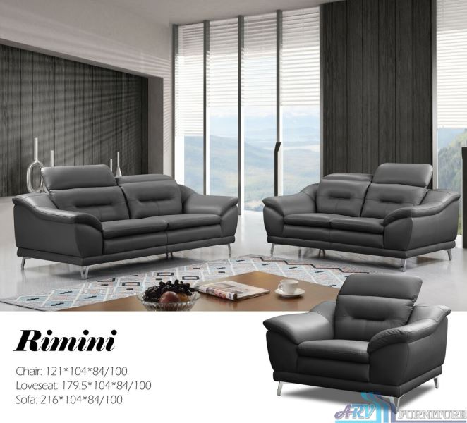 LeatherSofaFurniture-AC-Rimini-DarkGrey